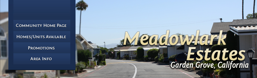 Welcome to Meadowlark Estates!